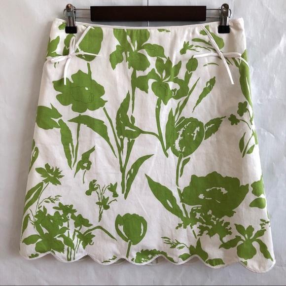 Cambridge Dry Goods Dresses & Skirts - Cambridge Dry Goods Floral Skirt w/Bows • Size 4